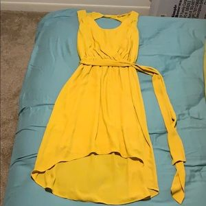 Yellow express dress